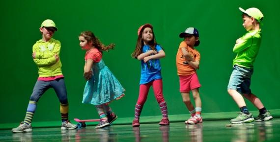 Танцы для детей (возраст 4-6 лет) с Татьяной Мороз