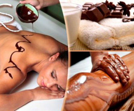 Горячий шоколадный массаж